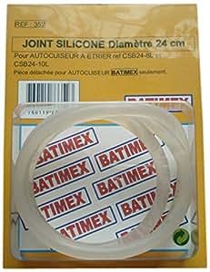 Kitchen Move 352 Joint Silicone pour Autocuiseur Etrier Batimex 8/10 L Diamètre 24 cm