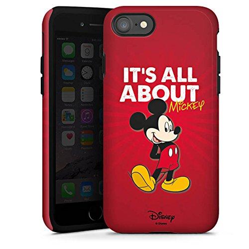 Apple iPhone X Silikon Hülle Case Schutzhülle Disney Mickey Mouse Merchandise Geschenke Tough Case glänzend