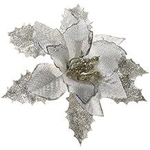 Flores Artificial árbol de Navidad Brillo Decoración Banquete Boda ...