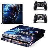Star Wars Battlefront 2 PS4 Skin Sticker Vinyl Aufkleber Schutzfolie zum Konsole & 2 Controller NEU