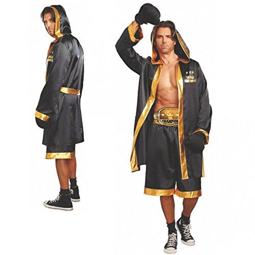Größentabelle Kostüm Dreamgirls - Dreamgirl Kostüm Boxer World Champion Boxkampf Sportler Fasching (XL)