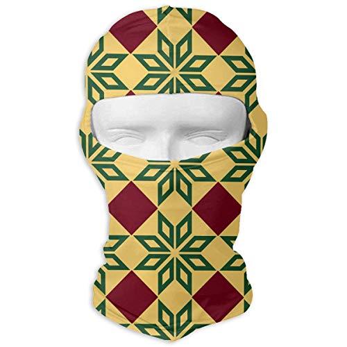 78ea636c662 Rghkjlp Yellow Barcelona Green Star Men Women Balaclava Neck Hood Full Face  Mask Hat Sunscreen Windproof