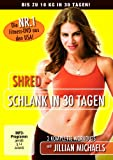 Geschenkidee Fitness - Jillian Michaels - Shred: Schlank in 30 Tagen