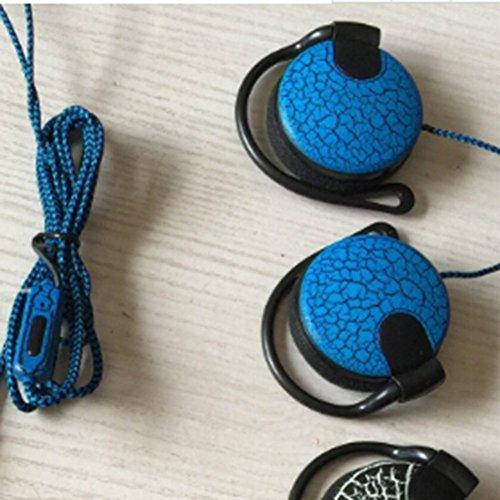 Delleu - Auriculares Diadema Gancho micrófono iPhone
