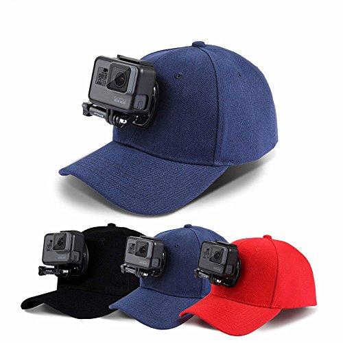 PULUZ für Gopro Zubehör Outdoor Sun Hat Topi Baseball Mütze Cap Baseballkappe W / Halter Halter für Kamera GoPro HERO5 HERO4 Session HERO 5 4 3 2 1 All American Jeans