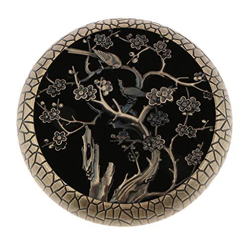 Homyl Bruciatore Incenso Braciere incensiere Aromaterapia Ornamento Decorazione Camera da Yoga - Fiore Prugna Antico Ciano