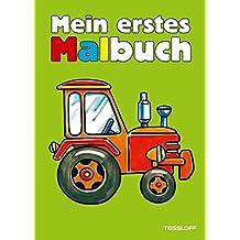 Mein erstes Malbuch Fahrzeuge: Traktor, Bagger, Lkw (Malbücher und -blöcke)