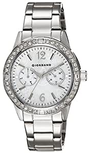 Giordano Analog White Dial Women's Watch - GX2653-22