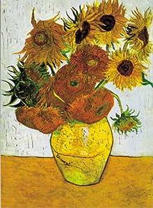 International Publishing - Ediciones Ricordi 5801N15361A-Artstones Les Van Gogh TOURNESOL Puzzle 1000 Piezas del Rompecabezas