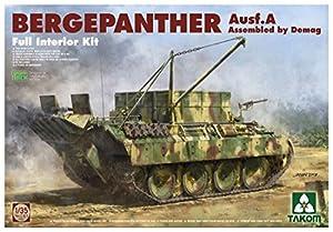 takom tko2101Model 2101: 1/35; WWII German Medium Tank SD.Coche.171/267bergepanther/zimmerit/Full Interior Kit