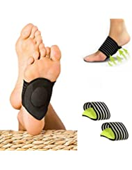SevenMye Shoes Back Heel Inserts Insoles Pads&Foot Pain Relief Plantar Fasciitis Insole Arch Support Pads