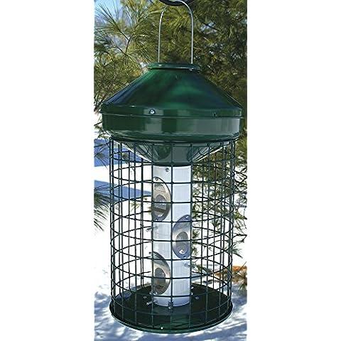 Vari-crafts aviarie Series mangiatoia per uccelli verde