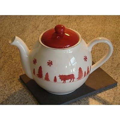 TABLE&COOK Théière 'vache rouge' - F364100328D0164