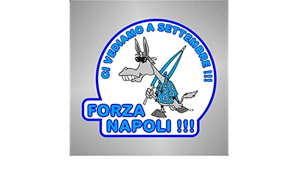 Graphic-lab Adesivo Ciuccio Forza Napoli Ultras Serie A champions league   Amazon.it  Casa e cucina aa83f2ac5453b