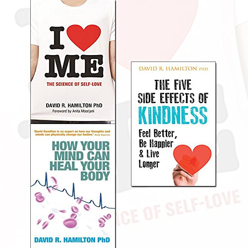 i heart me, how your mind can heal your body and the five side effects of kindness 3 books collection set - the science of self-love,this book will make you feel better, be happier & live longer
