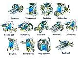 TEMSON Educational 13 in 1 Solar Power Energy Robot Toy Kit Science School