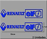 Ecoshirt HN-NN6L-0KDB Pegatinas Renault Elf R202