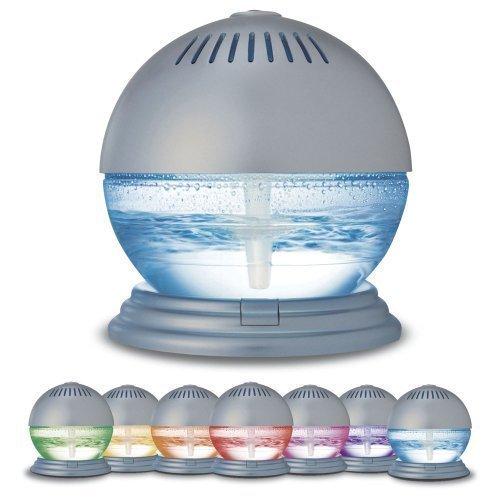 Sentik®, Luftreiniger und Ionisator mit farbwechselndem LED-Licht und 3Düften
