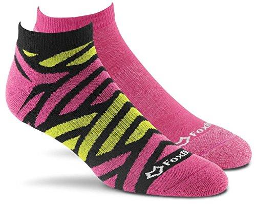 Fox River Damen Delta Scrubs Cut leicht gepolsterte Socken (2Pack), damen, Assorted Pink (Fox River Damen-socken)
