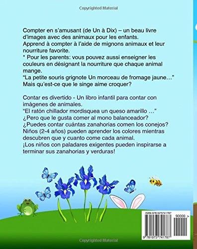 Espagnol enfant: Compter en s'amusant: Petit Livre de - L'espagnol, Livre bilingue pour enfants (Édition bilingue français-espagnol), l'espagnol pour les enfants, bilingue espagnol francais