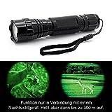 INFRAROT UltraFire Wf-501B LED Taschenlampe 800 Lumen - Aufheller-Effekt nur in Verbindung mit Nachtsichtgeräte