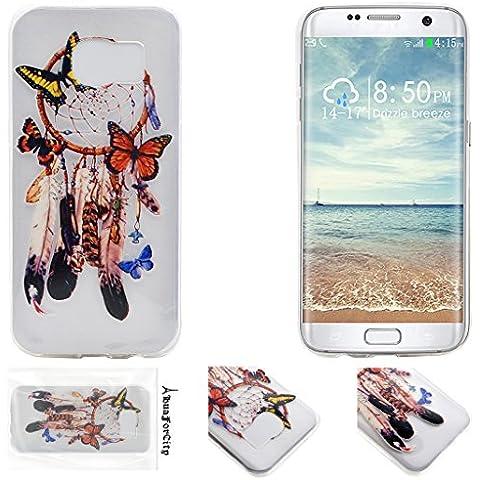 HuaForCity® Samsung S7 Edge Copertina Moda TPU Caso Antigraffio Dipinto
