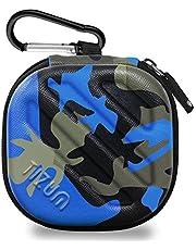 Tizum Tm-Epc-112-Blu Earphone Carrying Case (Camouflage Blue)