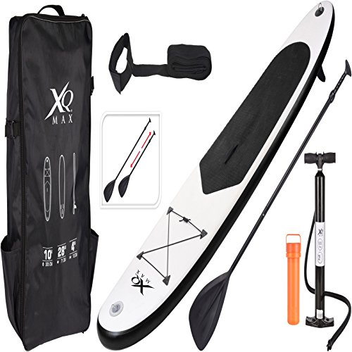 Xq Max Professional Inflatable Stand Up Paddle Board Surfboard Oars Backpack Air Pump Package Kit Set
