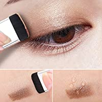 Rocita Sombras de Ojos,Paleta de sombra de ojos de Lazy Double Colors Profesional Paleta de Maquillaje Cosmética Eyeshadow (Perla)