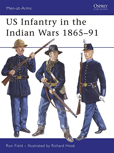 US Infantry in the Indian Wars 1865-91 (Men-at-Arms, Band 438) - Wars American Indian