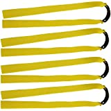 Mangobuy 10 Pcs Flat Elastic Rubber Band Outdoor Slingshot Replacement Band for Wooden Slingshot Catapult Tapered Hunting Bands