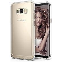 Ringke Fusion - Funda de PC con protector de TPU para Samsung Galaxy S8 2017 - Transparente