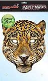 empireposter Tier Maske Leopard - hochwertiger Glanzkarton mit Augenlöchern