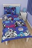 Character world High Monster High Beasties Single Rotary Duvet Set, Multi-Colour