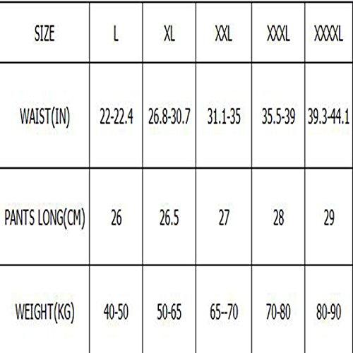 BUKUANG Erwachsene Männer Badehose Kurzsichtigkeit Kappenklage Brille Schwimmen Boxer Große Badebekleidung Heißen Quellen 5 Ausrüstung Red400