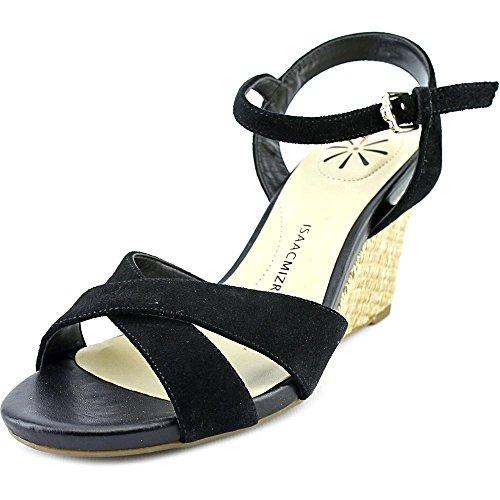 isaac-mizrahi-sassy-femmes-us-7-noir-sandales-compenses