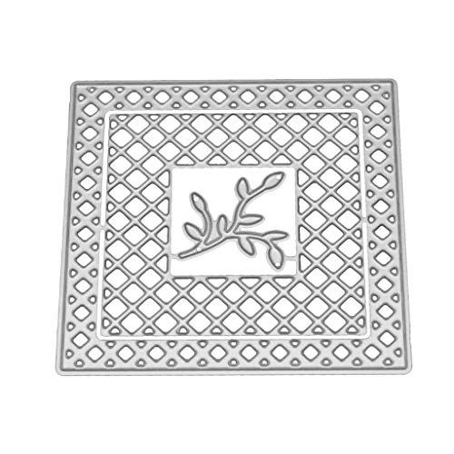 Girasool Mesh Metall Stanzformen Schablone DIY Scrapbooking Präge Papier Karte Wohnkultur