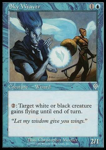 Magic: the Gathering - Sky Weaver - Invasion - Foil by Magic: the Gathering