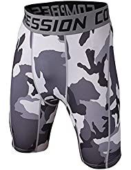Pantalon De Camouflage - Short De Compression - Tight Cuissard Homme