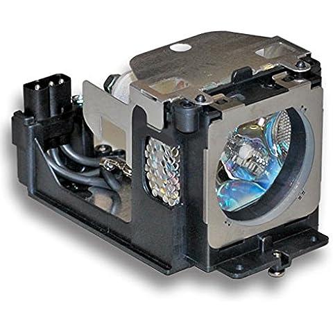 HFY marbull Replacement Lamp w/Carcasa para POA-LMP111Sanyo PLC-Wxu30, PLC-WXU3ST, PLC-WXU700PLC-XU101PLC-XU105PLC-XU111PLC-XU115PLC-WU3800PLC-XU106PLC-XU116plc-xu101K plc-xu111K plc-xu106K Proyector