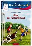 Blitz, der Fußball-Hund: Mit 16 Seiten Leserätseln und -spielen (Büchersterne)