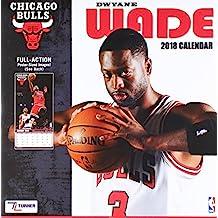 Chicago Bulls Dwyane Wade 2018 Calendar: Full-action Poster-sized Images!