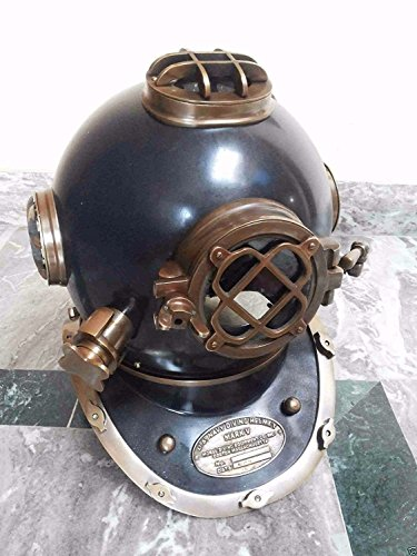 Safa Nautischer Tauchhelm, antiker Taucherhelm, Marite-U.S Navy Mark V B