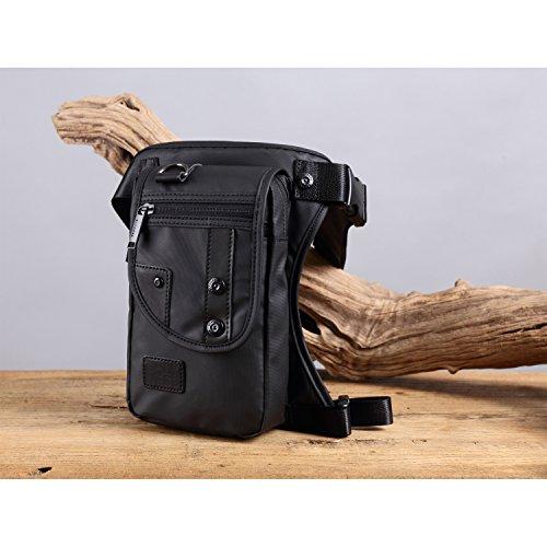 81e92dfed Foino Bolso de Cintura Hombre Riñonera Deporte Bolsa de Pierna Gimnasio  Bolsos Outdoor Sport Bag Pequeñas Bolsas de Viaje Carteras Movil