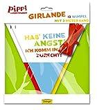 Wimpelkette * PIPPI LANGSTRUMPF * zur Dekoration bei Kindergeburtstag und Motto-Party // Kinder Girlande Deko Pipi
