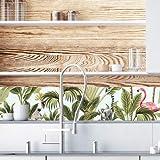 Sticker Crédence - Jungle - Dimensions 120 cm x 25 cm