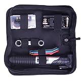 Haiworld Fahrrad Set Werkzeug Mit Tasche, Reparatur Set, Werkzeugtasche mit Mini Fahrradpumpe, Multitool, Reifenheber und Selbstklebendes Fahrrad Flicken
