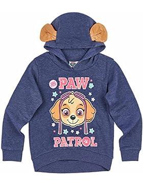 Paw Patrol Mädchen Sweatshirt mit Kapuze - marine blau