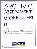 Data Ufficio 1820AZ0 Cartella Archivio Azzeramenti Giornalieri, bianco