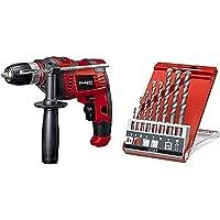 Einhell Schlagbohrmaschine TC-ID 550 E (550 W, Drehzahlregelelektronik, Drehzahlvorwahl, Rechts-/Linkslauf, Metall…